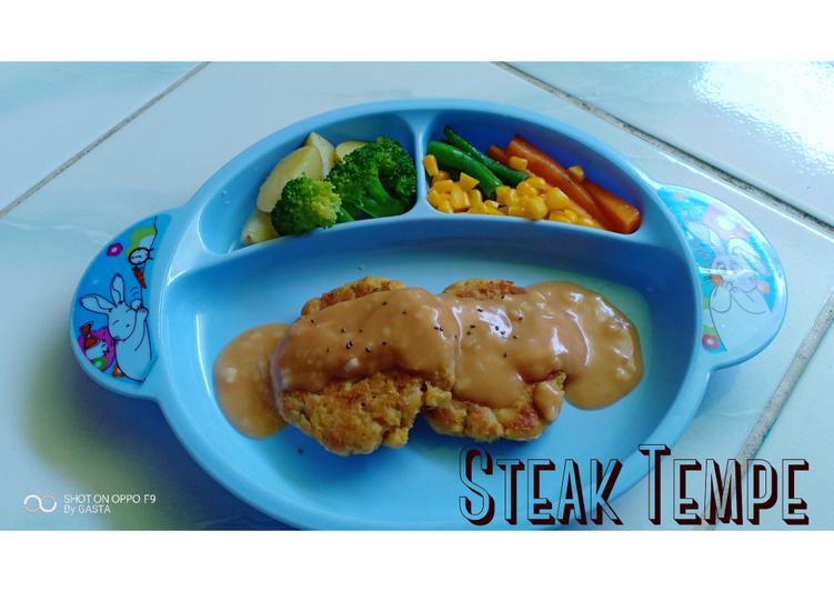 Steak Tempe untuk balitaku