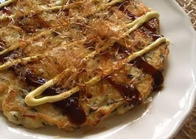 Okonomiyaki (Japanese Savoury Pancake) with Tofu