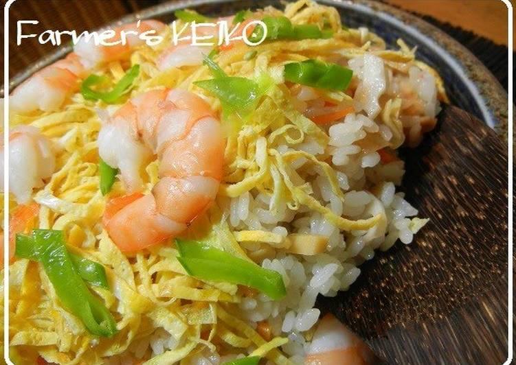 [Farmhouse Recipe] Chirashi Sushi