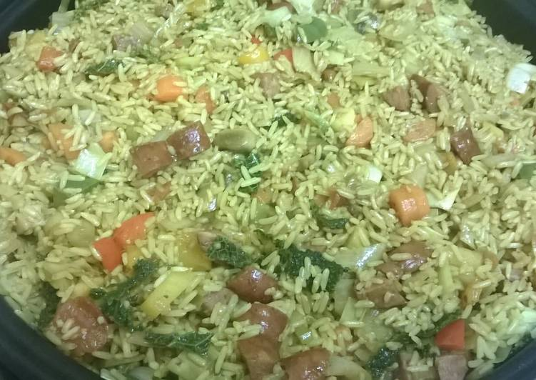 How to Make Award-winning Nasi goreng or savoury rice