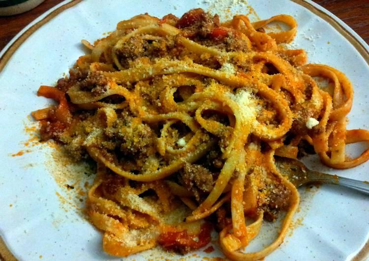 Recipe: Delicious Fettucini Marinara Pasta