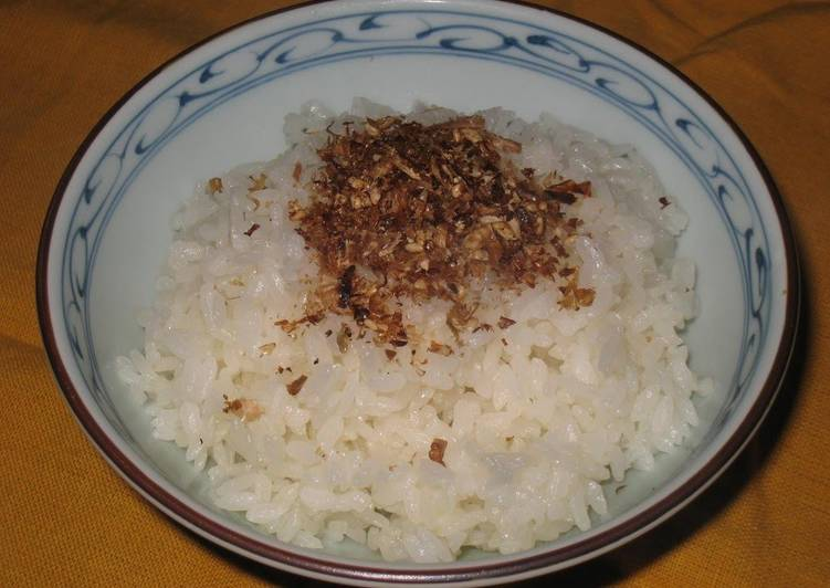 How to Make Award-winning Make it with Dashi Bonito Tasty Bonito Furikake Rice Sprinkles