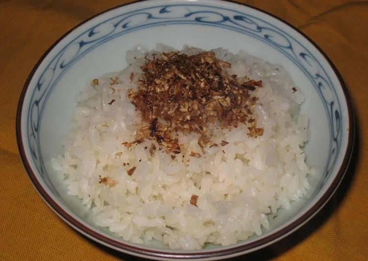 Recipe of Most Popular Make it with Dashi Bonito Tasty Bonito Furikake Rice Sprinkles