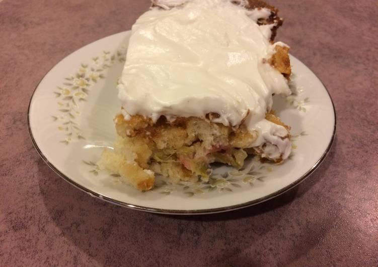 Easiest Way to Prepare Quick Rhubarb Cake