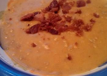 Easiest Way to Cook Yummy Split Pea and Bacon Soup
