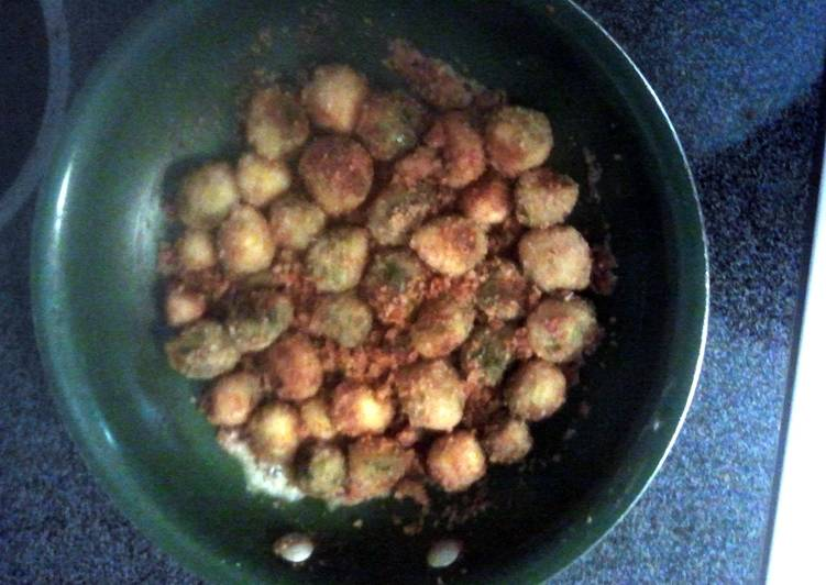 Katies pan fried brussel sprouts