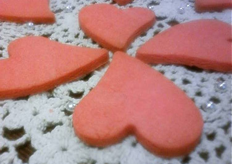 Strawberry Chocolate Cookies for Valentine's Day