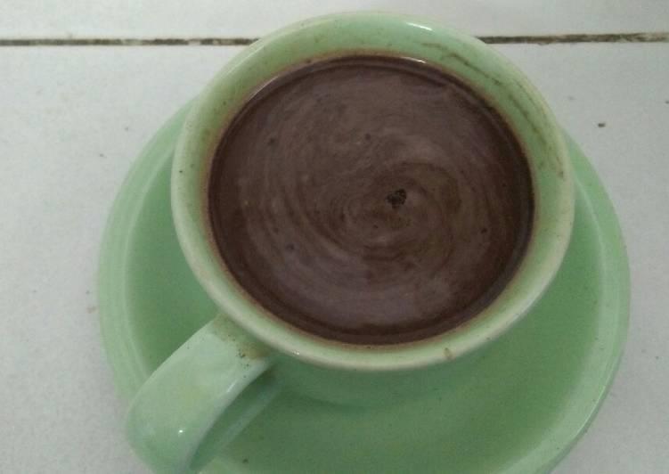 Kopi Cokelat Panas