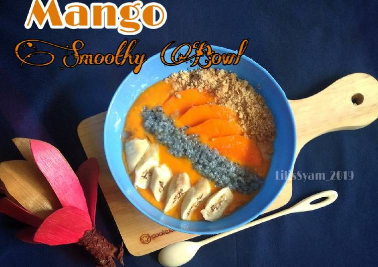Mango Smoothy Bowl