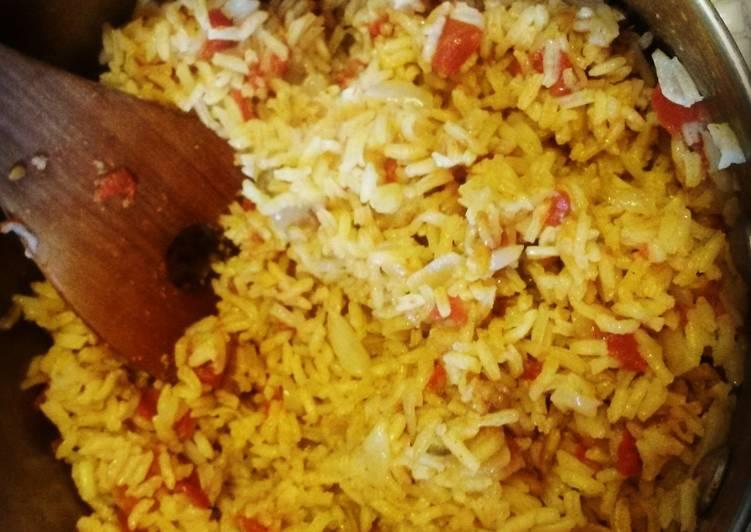 Mama's Sopa de Arroz (Mexican Rice)