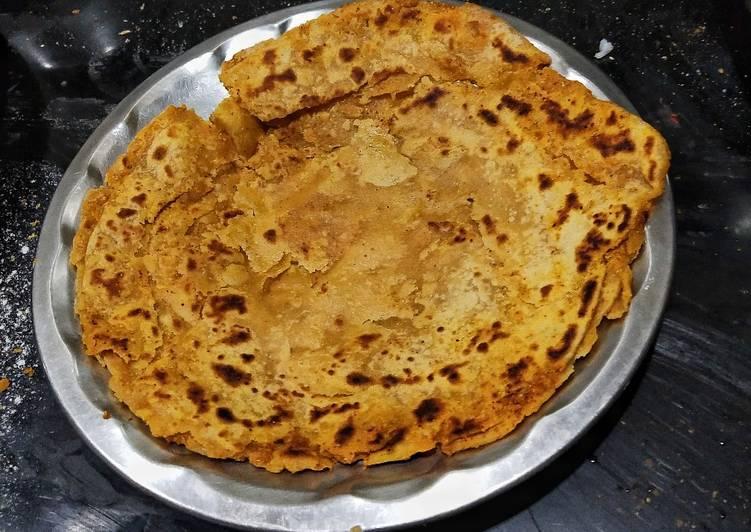 Easiest Way to Make Most Popular Wheat Flour Masala Paratha