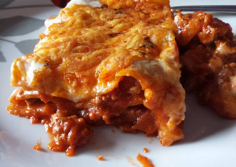 Easiest Way to Make Perfect Easy lasagne