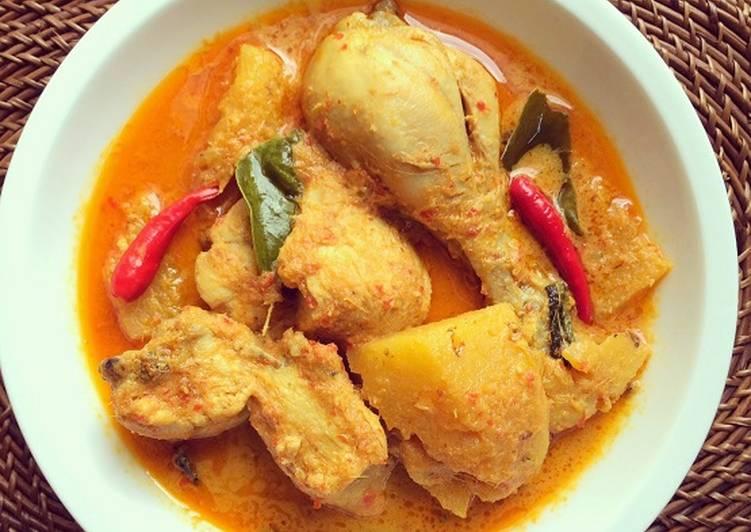Padang-style Kalio Ayam (Padang's Chicken Casserole) 😋🐥🐣🌶🥘