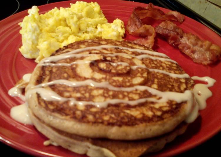 How to Prepare Perfect Sunshine's pecan cinnamon pancakes