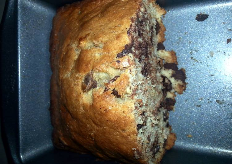 How to Cook Yummy Banana Bread W/ Chocolate Chips Or Blueberries