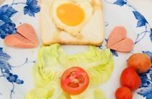 Sandwich trứng