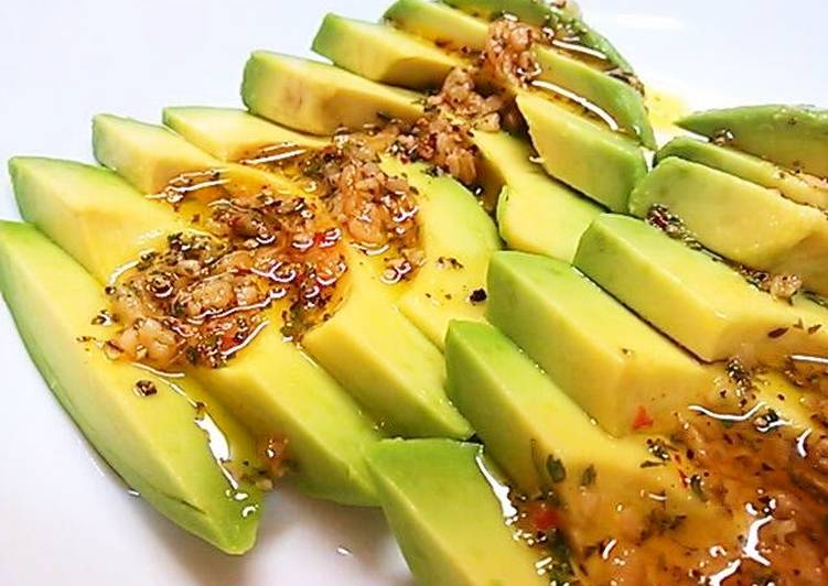 Recipe: Yummy Sauce for Avocado No. 1