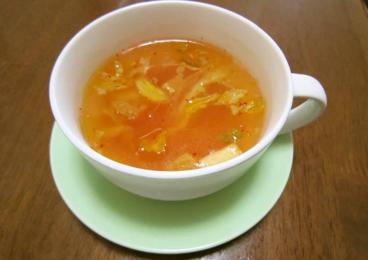 Easy Kimchi Soup