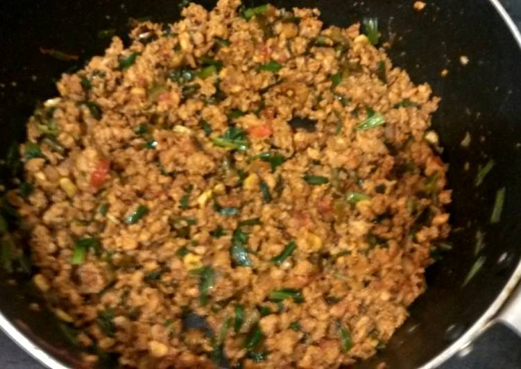 Chicken keema Finding Healthy Fast Food