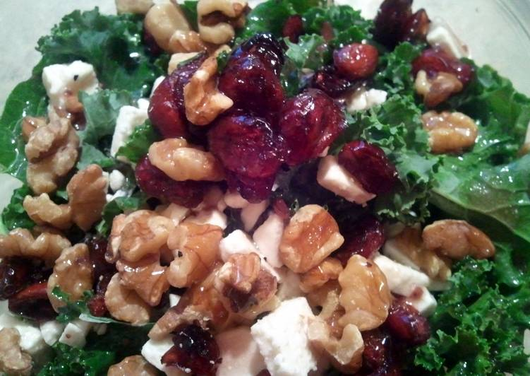 Recipe of Homemade Kale salad with the fixings