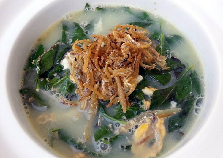 Simple Way to Prepare Most Popular LG MINT SOUP ( EGGS AND ANCHOVIES )