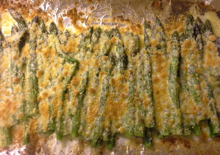 Recipe: Yummy Broiled parmesan asparagus