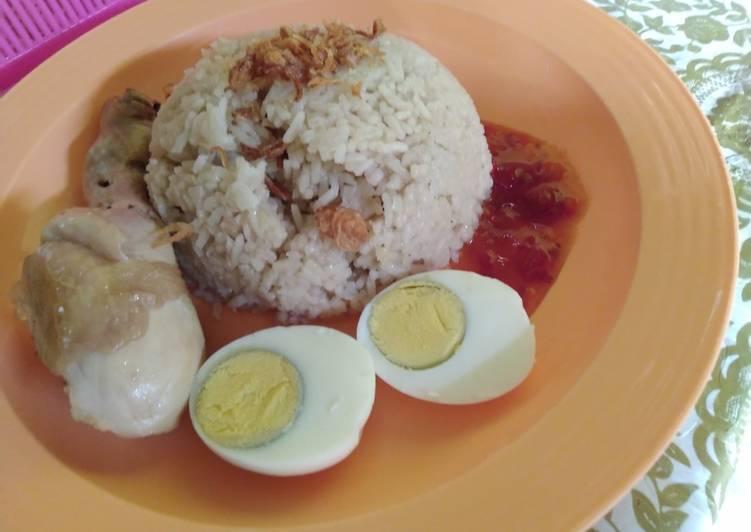 Nasi Hainan rice cooker