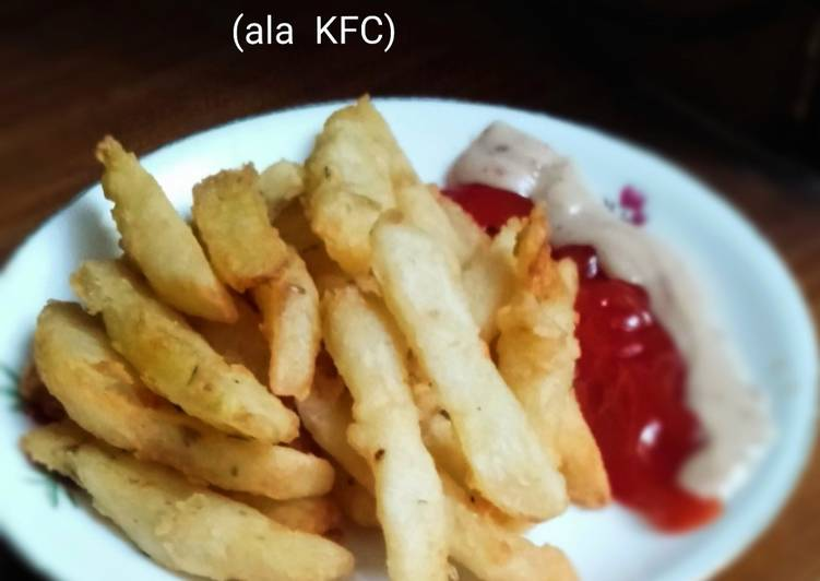 190.Kentang Goreng ala KFC