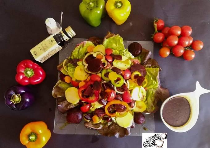 Steirische Salad  A typical Austrian Steiermark,salad
