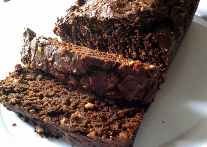 How to Cook Tasty Chocolate Peanut Butter Banana Nut Bread