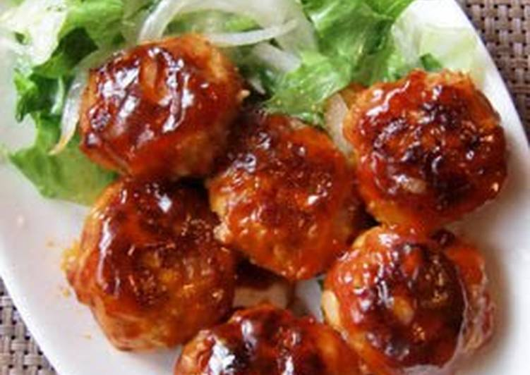 Recipe: Perfect Chicken & Pork Meatballs! Sweet and Sour Sauce