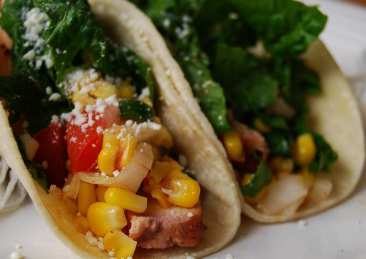 Eat These 14 Superfoods to Go Green for Better Health Hawaiian Chicken Tacos w/Corn Pico de Gallo
