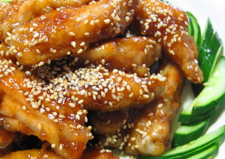 """Seriously Good! Sweet-Salty Nagoya Style Chicken """"Spare Ribs"""""""