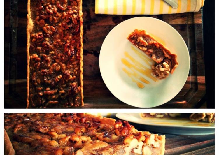 Caramel Walnut Tarts