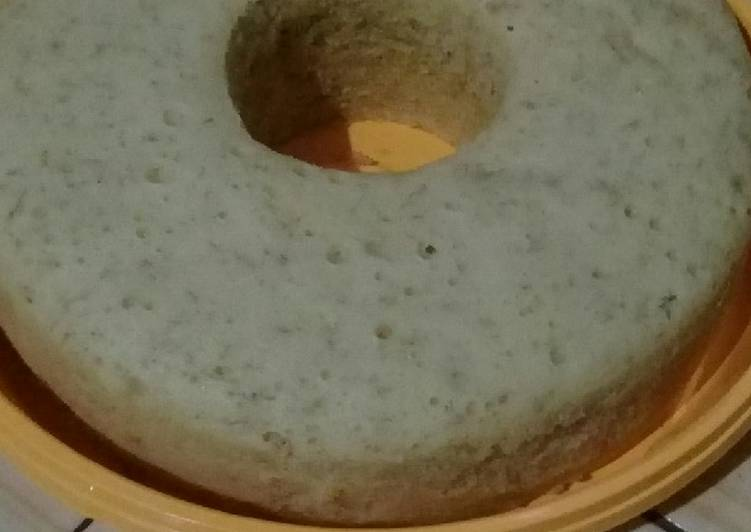 Bolu Pisang Kukus Kampung versi Sponge Cake