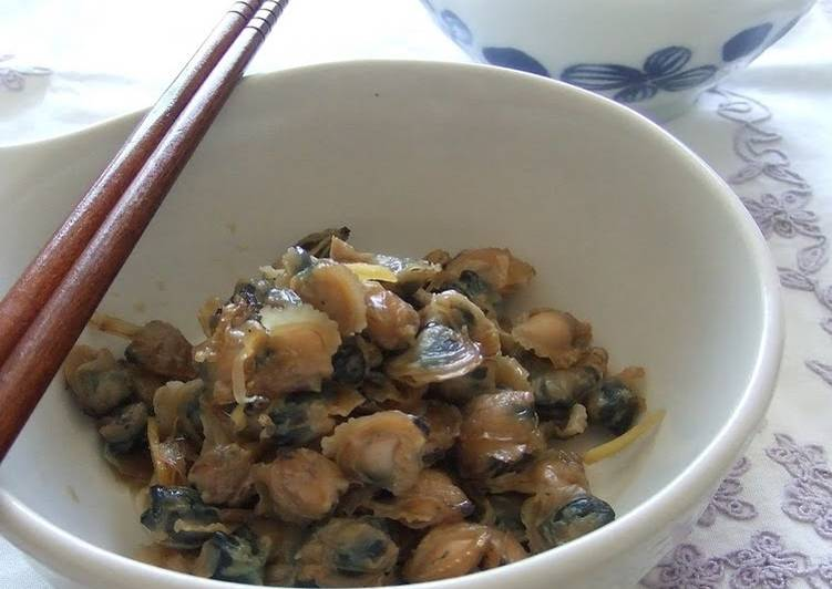 Salty-Sweet Shijimi Clams To Serve With Rice