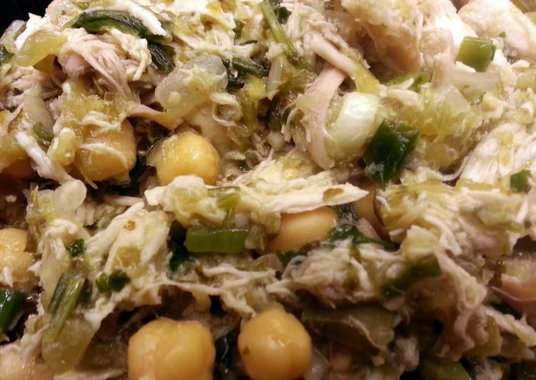 Easiest Way to Make Quick Chicken Green Chili