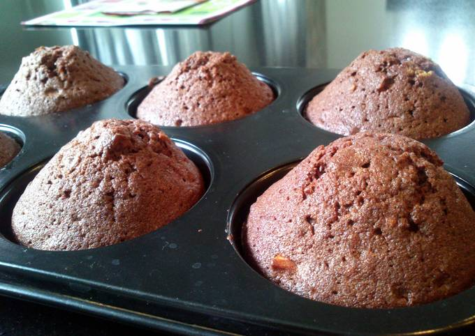 Simple Brownie Muffin