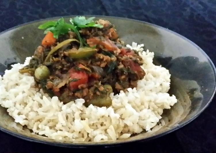 Mutton N Vegetables