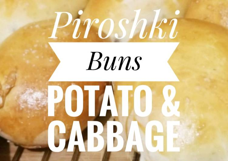 The Best Soft and Chewy Dinner Easy Award Winning Baked Piroshki Buns- Potato, Cabbage, & cheese 🥔🥬🧀