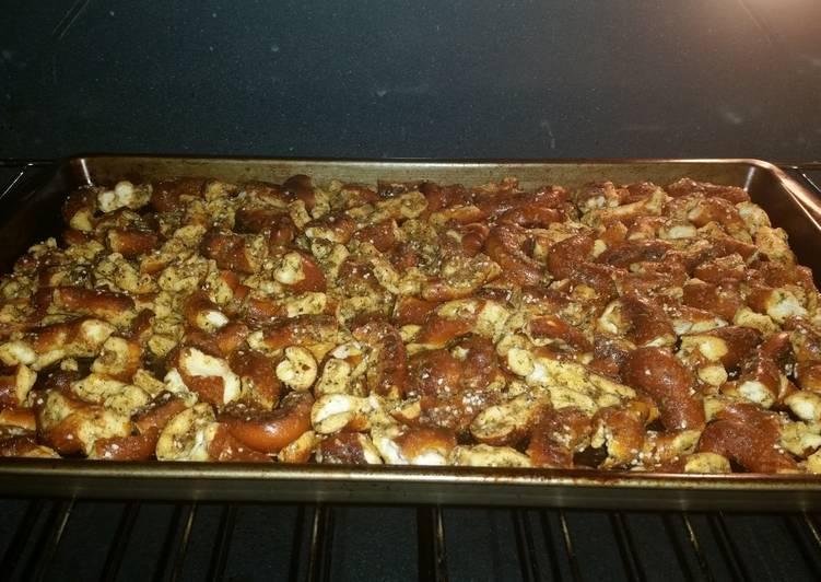 Steps to Prepare Homemade Hot Pretzels