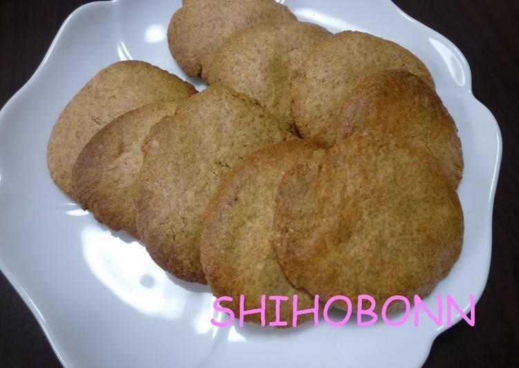 Easy Macrobiotic Cookies