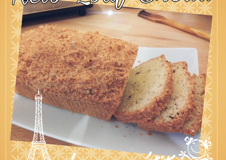 Resep LOAF BREAD Low Carb High Fiber Paling Gampang