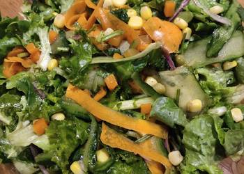 How to Cook Yummy Leafy Salad