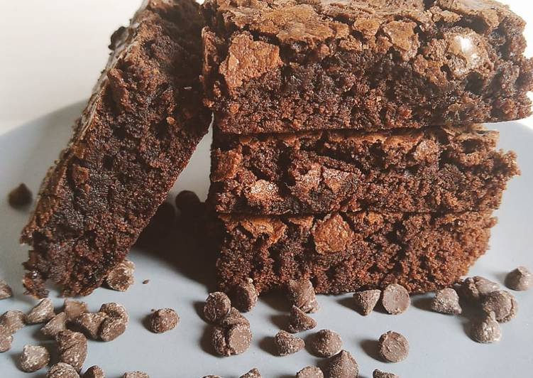 Recipe of Speedy Fudge Brownies