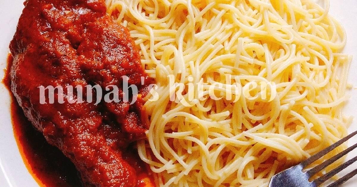 spaghetti salat maggi