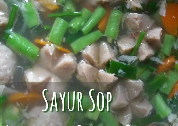Langkah Mudah Membuat 🍁 Sayur Sop Ayam mix Bakso…