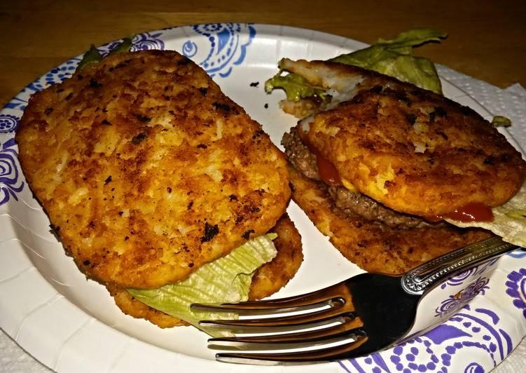 Recipe: Yummy Hash Brown Buns
