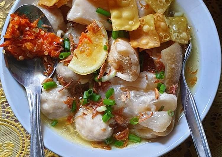 Kuah Bakso Kaki Sapi