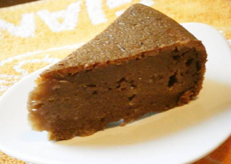 Okara Cocoa Cake - Laurie G Edwards